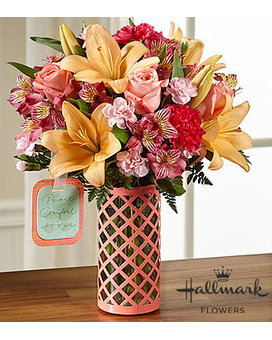 Peace, Comfort and Hope™ Bouquet by Hallmark Custom product