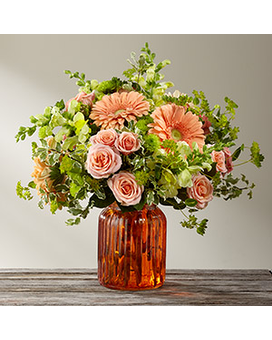 Peachy Keen Bouquet by FTD® Custom product