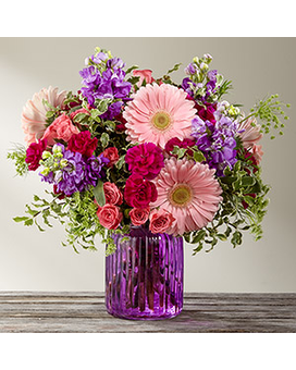 Purple Prose Bouquet by FTD® Custom product