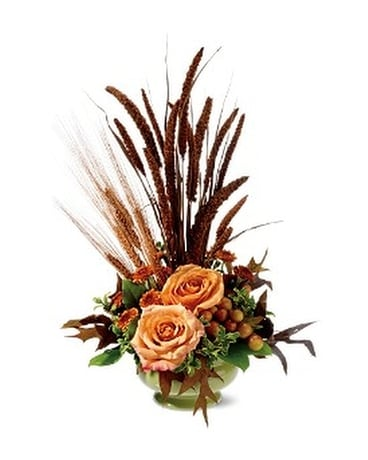 Harvest Home Flower Arrangement
