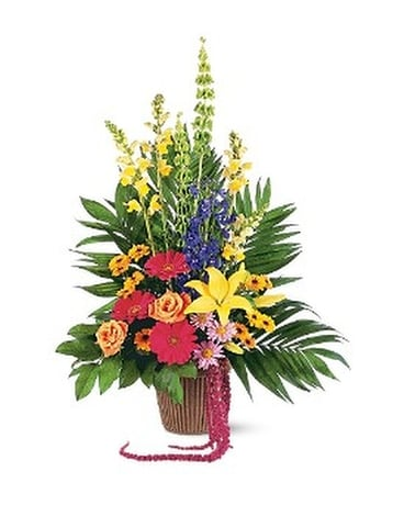 Celebration of Life Arrangement Flower Arrangement
