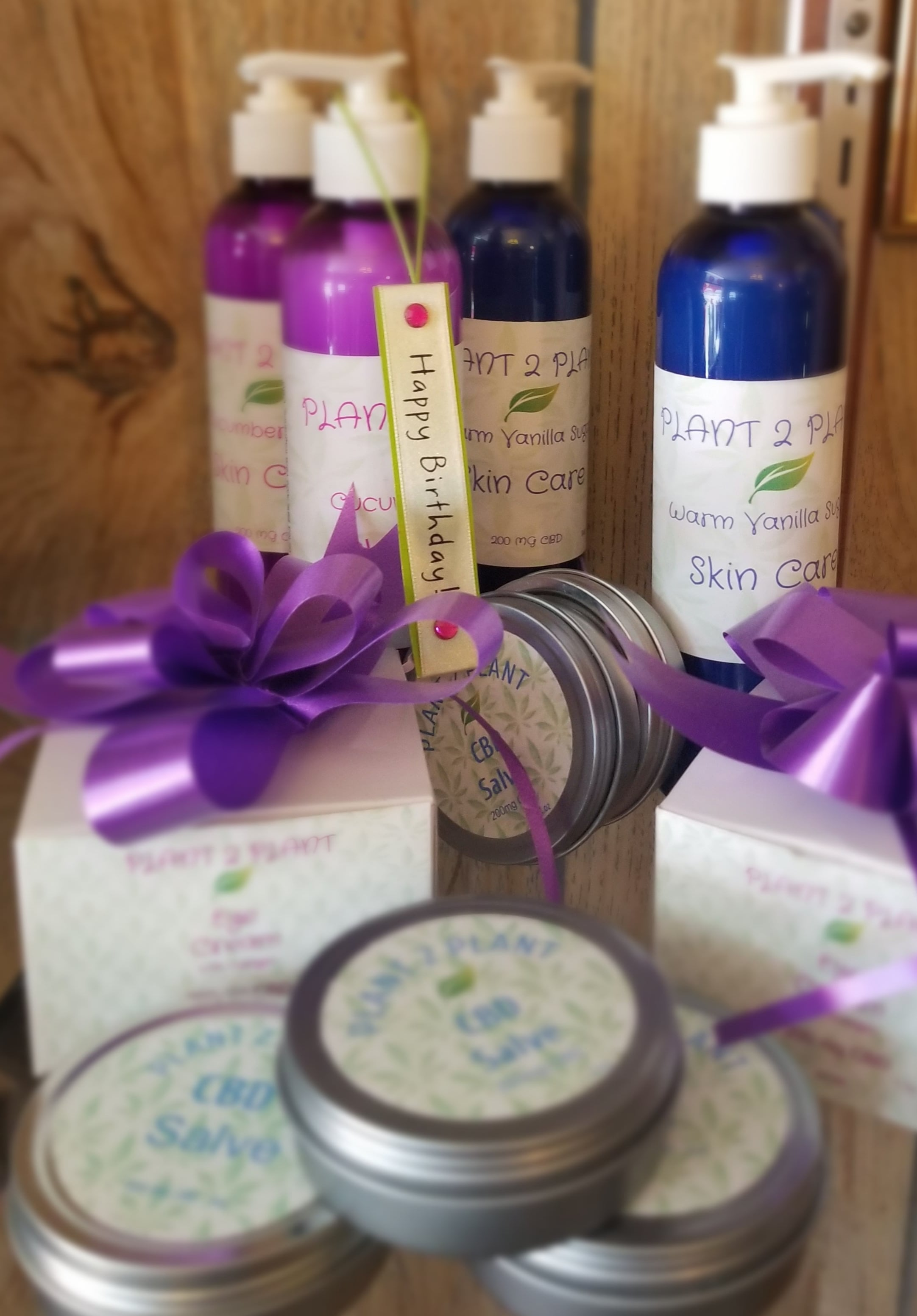 Organic CBD Beauty Products