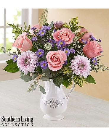Southern Living Pitcher Flower Arrangement