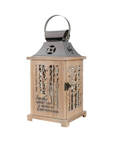 Wood Lantern - Family Custom product
