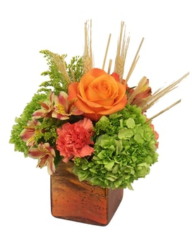 Crackling Embers Flower Arrangement