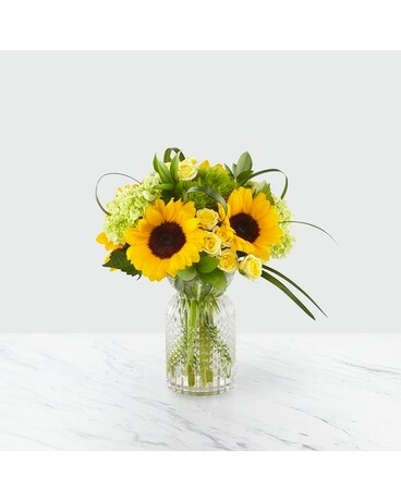 Sunlit Days Flower Arrangement