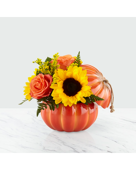 Harvest Traditions Flower Arrangement