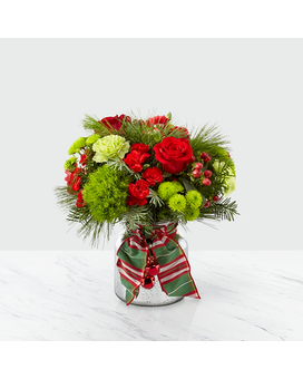 Jingle Bells Flower Arrangement