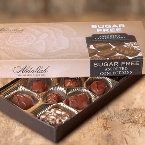 Sugar Free Asst. Abdallah Chocolates 6.75oz
