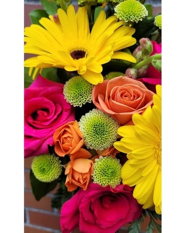 Citrus Bliss Designer's Choice Flower Arrangement