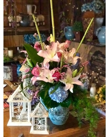 LILIES AND HYDRANGEA Custom product