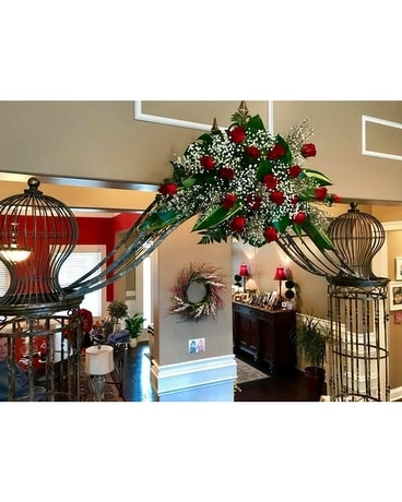 ARCHWAY OF ROSES Custom product
