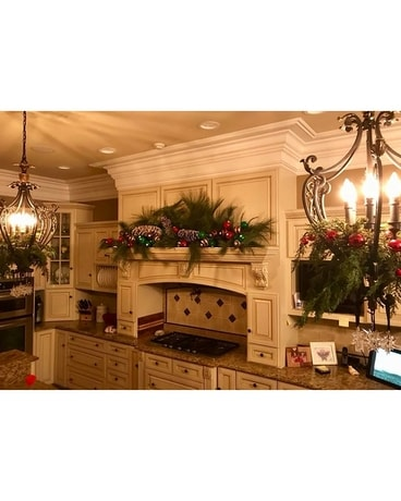 Christmas Kitchen Decor In Glasgow Ky Jeff S Country Florist Gifts