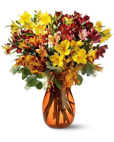Alstroemeria Brights Flower Arrangement
