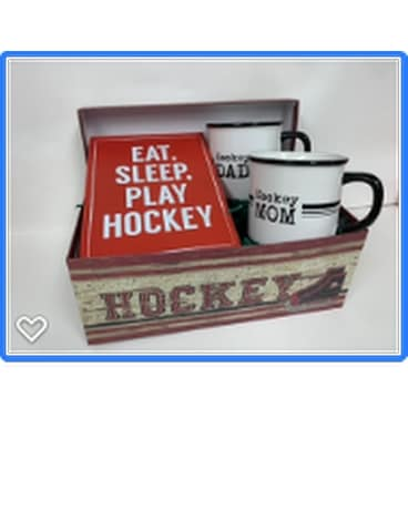 Hockey Mom & Dad Gift Basket Gift Basket