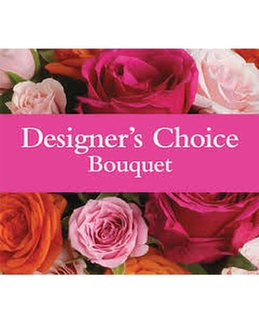 Designers Choice Wrapped Bouquet Bouquet