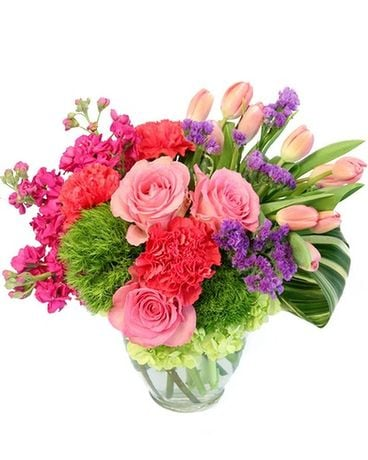 Berry Fizz Flower Arrangement