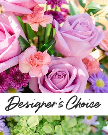 Designers Choice Pastels Flower Arrangement
