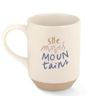 She Moves Mountains Mug