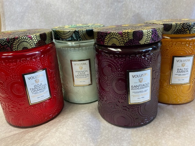 Voluspa Luxury Candles Large Jar 4 scents