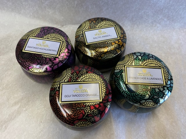 Voluspa Luxury Candles Mini Tin 4 scents