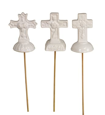 Ceramic Cross Pick