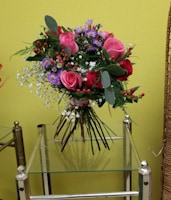 No Vase (Wrapped -Mixed Fresh Cut Flowers)