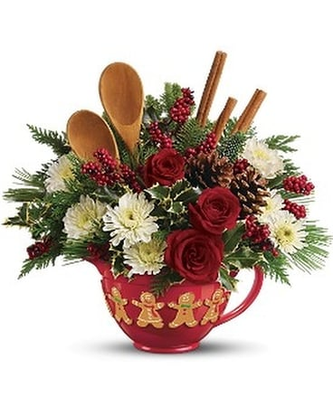 Teleflora's Mixing Bowl Bouquet Flower Arrangement