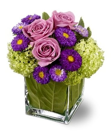 Teleflora's Simply Charming Custom product