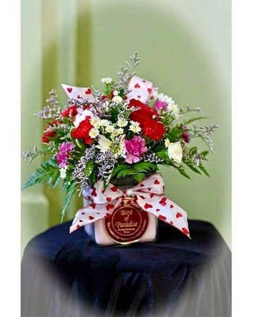 Circle E Flower Arrangement