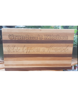 Custom Engraved 16 x 11 Cutting Board Gifts