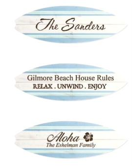 Engraved Paddle/Surf Board Gifts