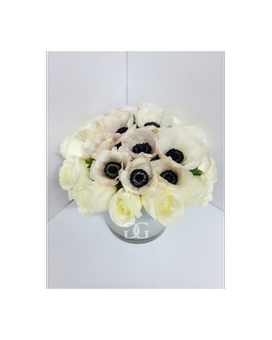 Ameome Centerpiece Flower Arrangement