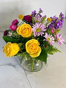 Bold & Bright Weekly Floral Subscription