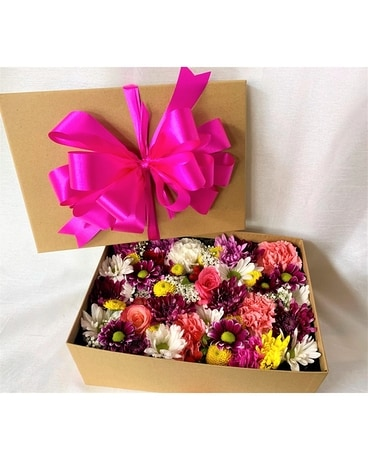 Surprise Box! Flower Arrangement