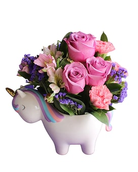 Magical Mood Unicorn Bouquet Flower Arrangement