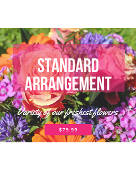Standard Arrangement Flower Arrangement