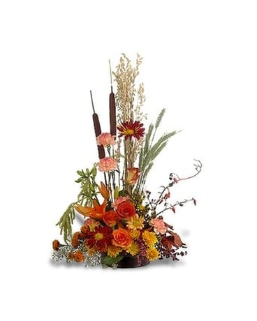 Shades of Autumn Flower Arrangement