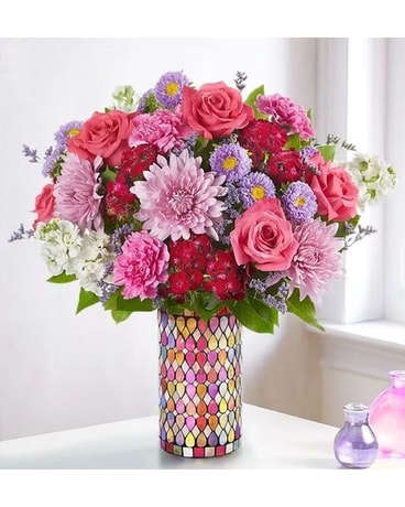 Dazzle Her Day Bouquet Flower Arrangement