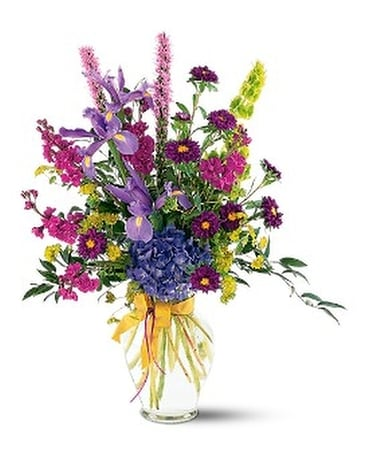 Lush Lavenders Bouquet Flower Arrangement