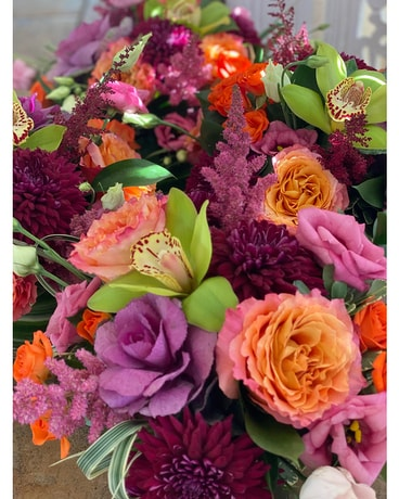 Seasonal Designs by the flower shoppe Flower Arrangement