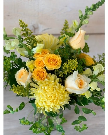 The flower shoppe's Vitamin D Bouquet