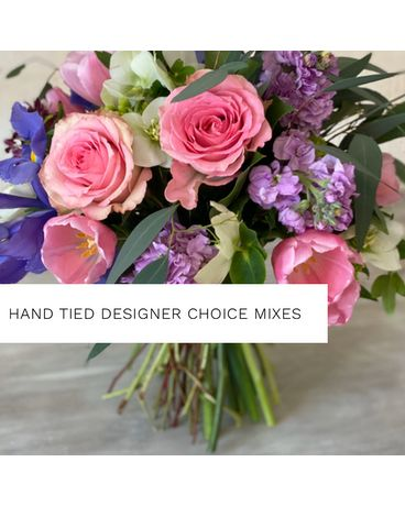Hand-tied Seasonal Wraps by The Flower Shoppe Flowers