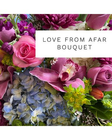 Love from afar by The Flower Shoppe