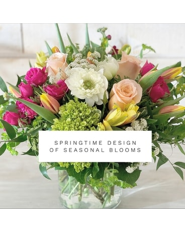 Springtime Design of Seasonal Blooms