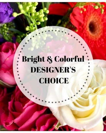 Bright & Colorful Designer's Choice Flower Arrangement
