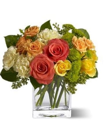 Citrus Sunrise Flower Arrangement