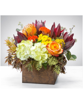 Boston Foliage Flower Arrangement