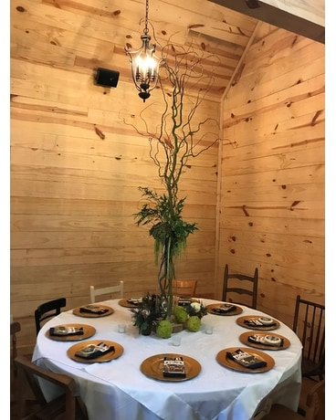 Toates-Herrin Center Piece - Wedding Arrangement