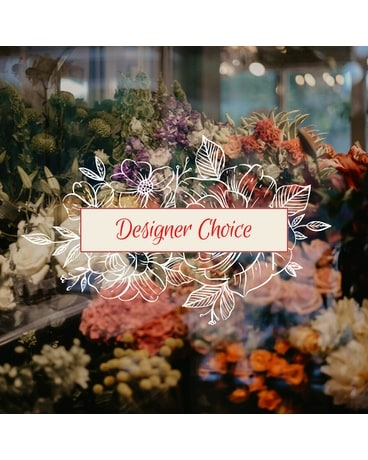 Designer's Choice in a Vase Flower Arrangement